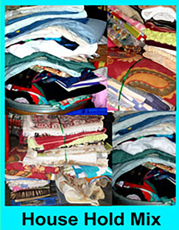 House clothes, household rummage clothing, used house hold rummage clothes